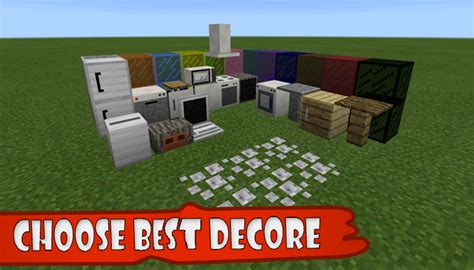 decoration mod  minecraft  apk  android