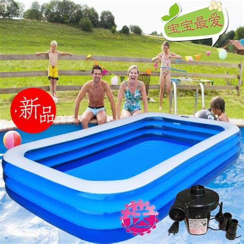 Adult Inflatable Swimming Pools | adult swimming pool beightening thickening rectangle