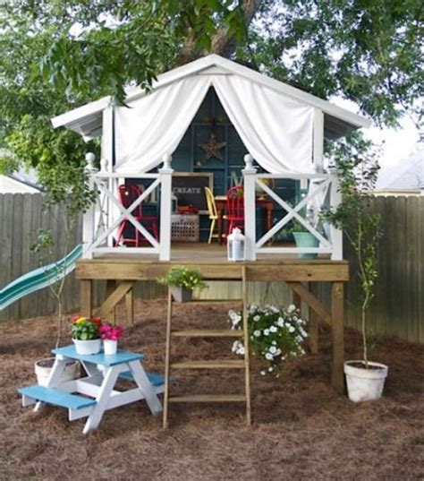 awesome backyards for kids 15 super awesome kids outdoor playhouses kidsomania