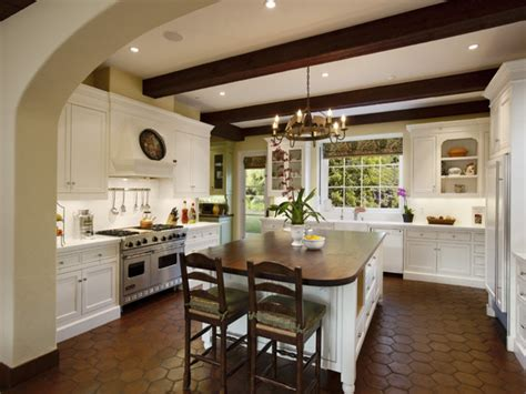 colonial kitchen design mediterranean kitchen design santa barbara spanish