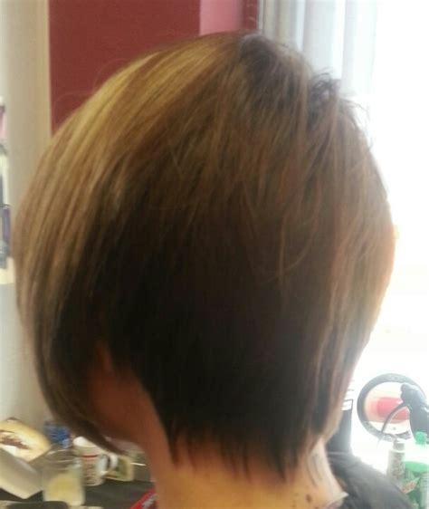 Back of asymmetrical cut   Haircuts   Pinterest   Haircuts