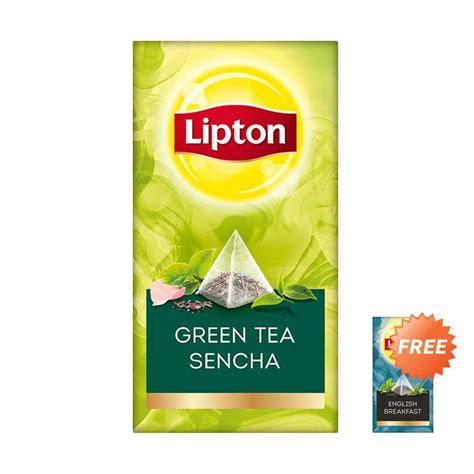Wrp Green Tea 30 Sachet jual lipton env green sencha minuman teh 30 sachet 54 gr