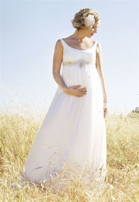 blog top  sexy pregnant wedding dress