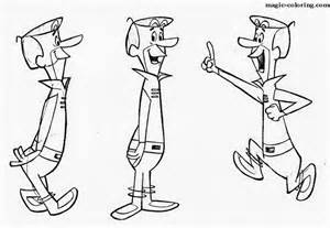 jetsons coloring book free the jetsons coloring pages