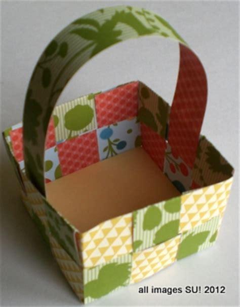 Paper Basket Craft Ideas - craft ideas easter basket or may basket