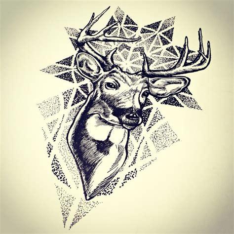dotwork tattoo pen deer dotwork sketch tattoos pinterest deer and sketches