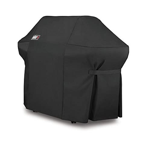 Which Is Best Vinyl Or Polyester For Grill Covers - weber 7108 grill cover with storage bag for summit 400