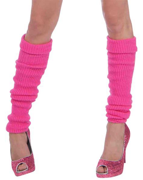 leg warmers neon pink leg warmers costume craze