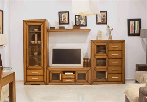 mueble natural salon roble comprar muebles de sal 243 n r 250 sticos
