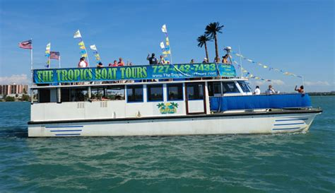 clearwater boat tours the tropics boat tours clearwater fl hours address