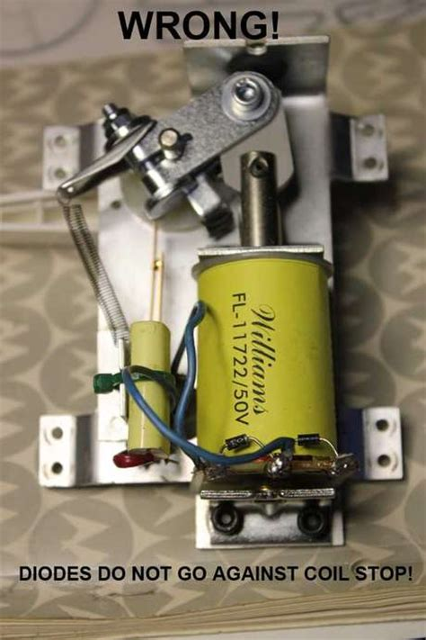diode installation direction rebuilding flippers performance pinball