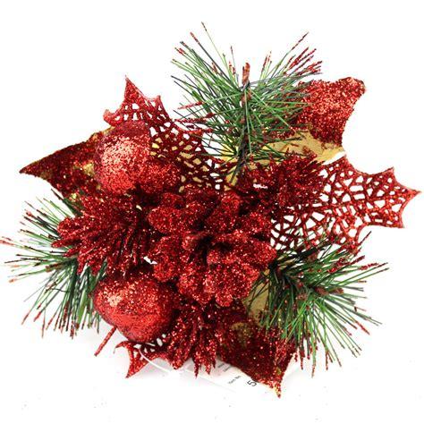 christmas flower picks