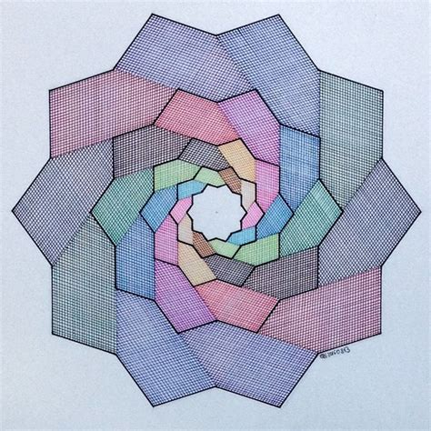 geometric pattern paper 198 best geom star polygons images on pinterest