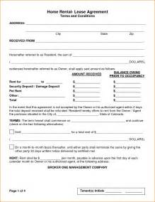 House Rent Agreement Letter Format 5 House Rental Agreement Template Teknoswitch