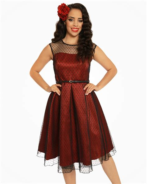 Aleena Dress aleena ruby polka dot prom bridesmaid dress