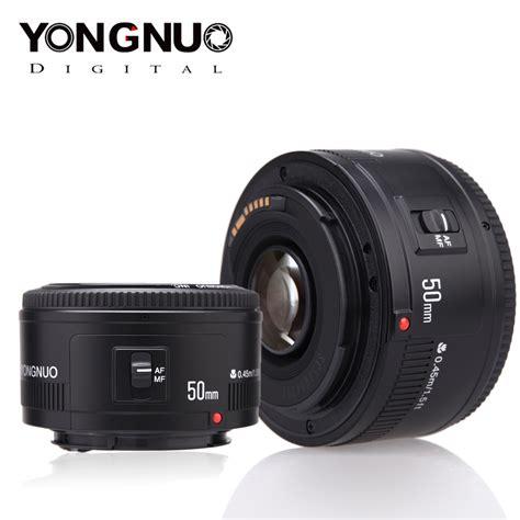 Dijamin Yongnuo Lensa Ef Yn 50 Mm F1 8 For Canon aliexpress buy yongnuo lens yn50mm f1 8 yn ef 50mm f 1 8 af lens yn50 aperture auto focus