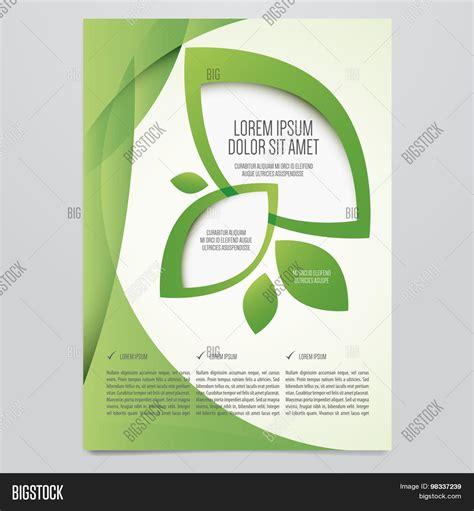 environment design guide journal vector eco flyer poster brochure vector photo bigstock