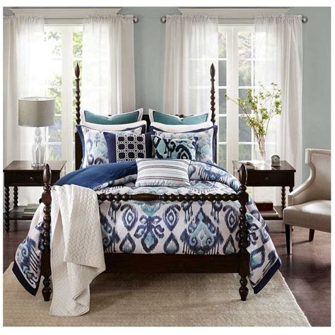 Ikat Bedding Sets The 25 Best Ikat Bedding Ideas On Pinterest White Fabrics The And Blue Fabric