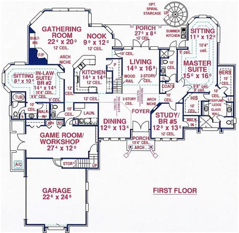 in suite house plans numberedtype