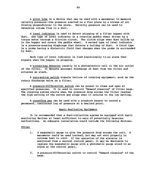 design criteria for instrumentation instrumentation operation and maintenance pneumatic