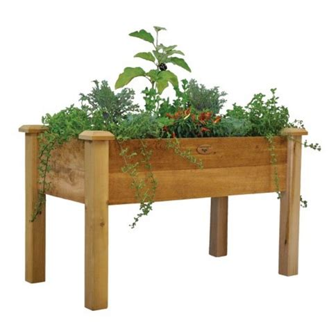Outdoor Raised Planters by Gronomics Outdoor Elevated Raised Garden Vegetable