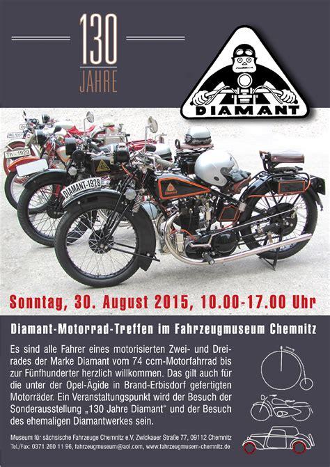 Motorrad Marke Diamant by Diamant Motorradfahrertreffen Museum F 252 R S 228 Chsische