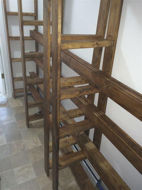 diy industrial style wood slat closet system with diy how to build an industrial style wood slat closet sy