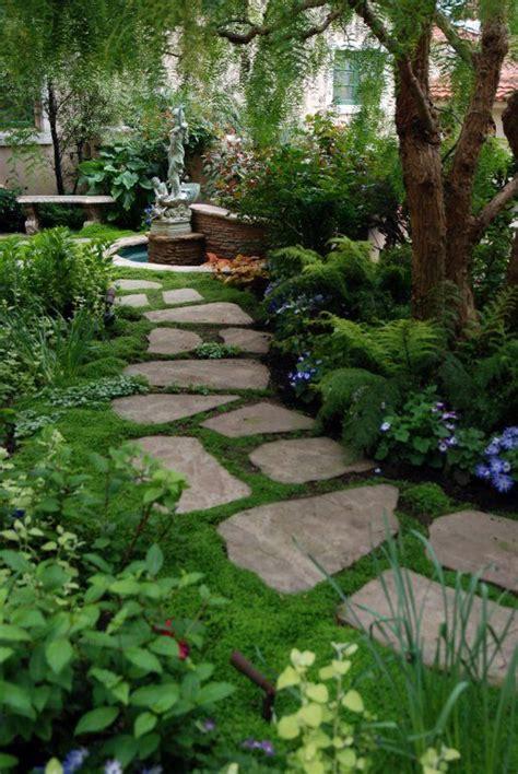 garden stepping stone path yard garden paths garden