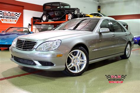 Upholstery Bench 2004 Mercedes Benz S55 Amg Stock M4952 For Sale Near