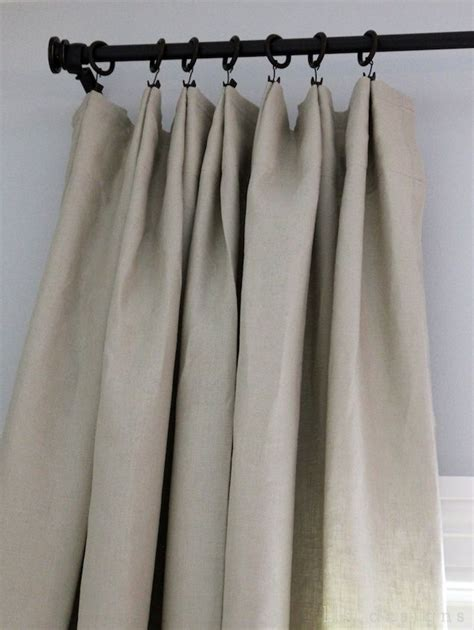hanging curtains with rings best 25 curtain clips ideas on pinterest easy curtains