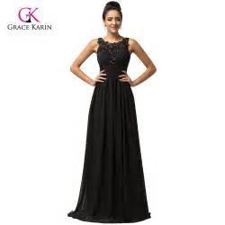 aliexpress com buy grace karin backless black cheap long