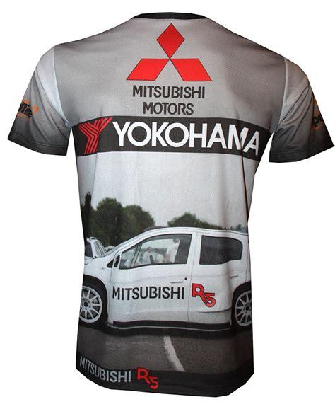 Tshirt R5 mitsubishi r5 t shirt with logo and all printed