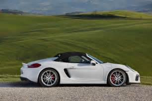 Porsche M 2016 Porsche Boxster Spyder Drive Automobile Magazine