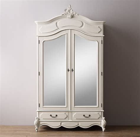 armoire with mirror doors marielle armoire with mirror doors