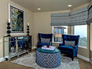 Sitting Chairs For Living Room Design Ideas Master Bedroom Sitting Nook With Tufted Wing Chairs Designers Portfolio Hgtv Home
