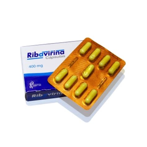 ribavirin 400 mg 18 caps farmacia del niño pharmacy