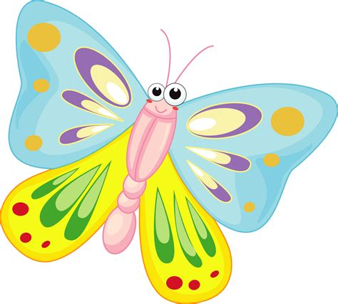 Butterfly Cartoon Images   Free Download Clip Art   Free
