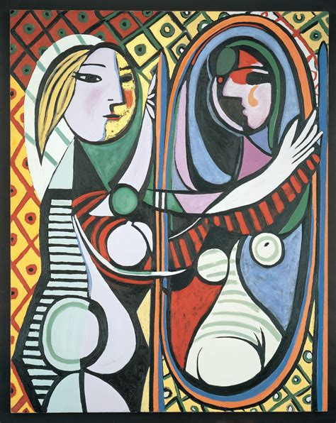 picasso paintings in mirror review quot after picasso 80 contemporary artists quot at