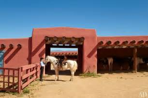 Jane Fonda S New Mexico Ranch Photos Architectural Digest Ranch Style Home Design