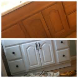 how to paint a bathroom vanity cupboard low budget diy