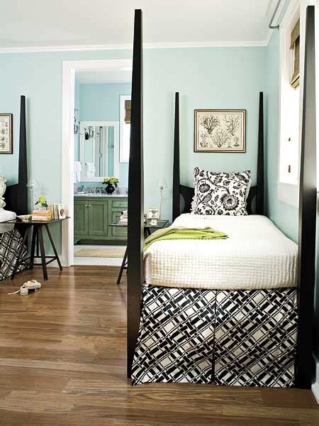 blue guest bedroom color roundup using sky blue in interior design the