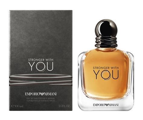 The Perfumes You Only You See In by Emporio Armani Stronger With You Giorgio Armani Cologne