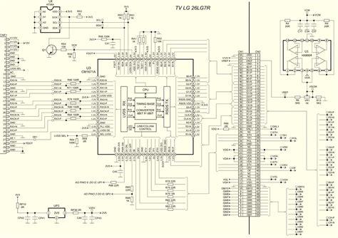 t con board lcd tv schematic diagram samsung tv parts