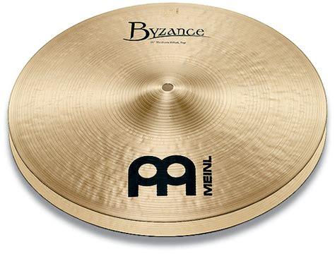 meinl 14 quot byzance traditional thin hi hat cymbals b14th rockem