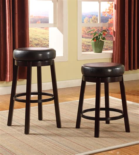 Contemporary Counter Height Swivel Bar Stools by Crown Bar Stools 2794s 24 Esp Contemporary