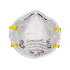 3m paint sanding respirator (2 pack) 8210pa2 a the home