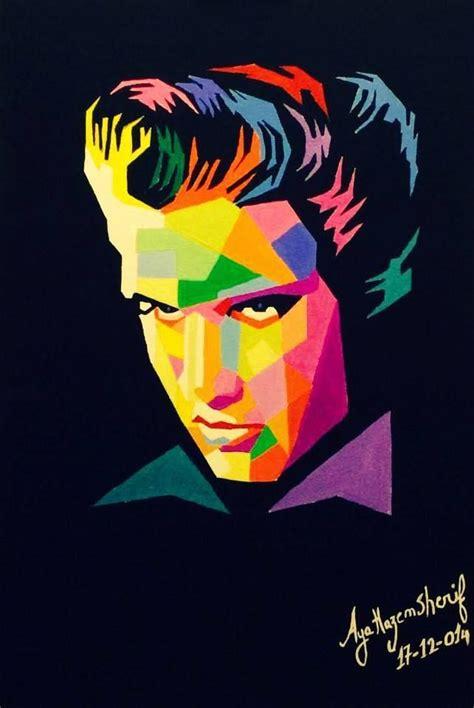 elvis presley pop art painting 17 best images about painting ideas on pinterest