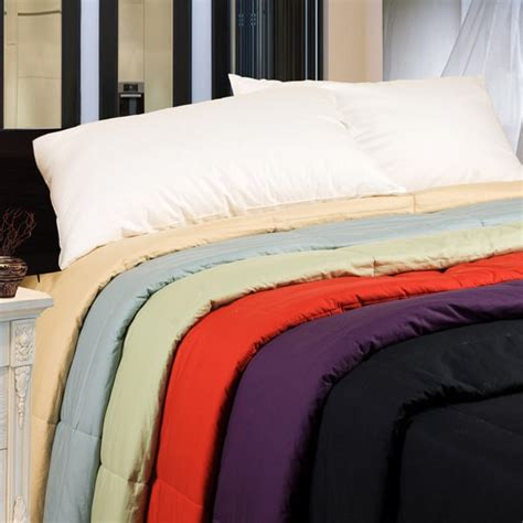 down filled comforter cottonloft colors all natural down alternative cotton