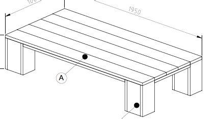 Steigerhout Tafel Maken Tips by Voor Een Steigerhout Tafel Bouwtekening Tips Klik Je Hier