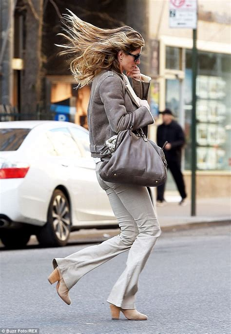 Theres Something About Gisele by Gisele Bundchen Has A Hair Raising Moment In New York